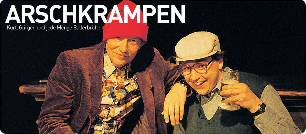 Dietmar Wischmeyer - Arschkrampen - Is Mir Schlecht - The Drecks Generation