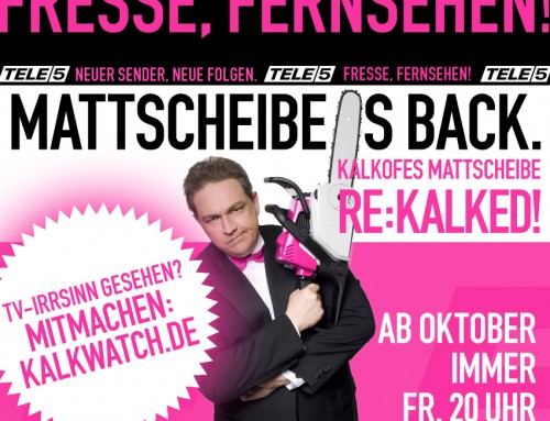 Fresse, Fernsehen – Mattscheibe is back!