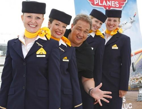 """Oliver Kalkofe alias Franz Fliegenhosen in """" Planes"""" – Kinostart: 29.08.2013"""