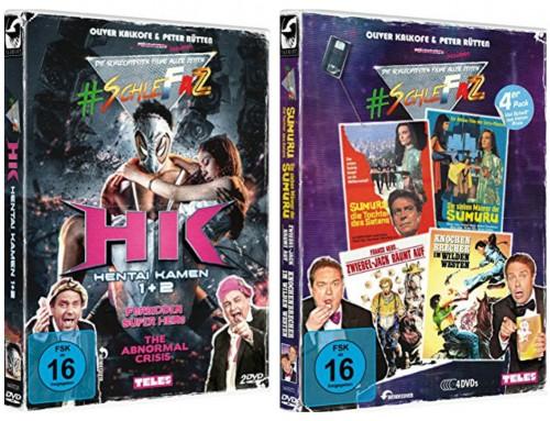 #SchleFaZ – Neue DVD Boxen Hentai Kamen1&2 und Das 4er Pack: Viel Scheiß zum kleinen Preis
