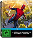 Spider-Man Homecoming Steelbook (PopArt) (exklusiv bei Amazon.de) [Blu-ray] [Limited Edition]