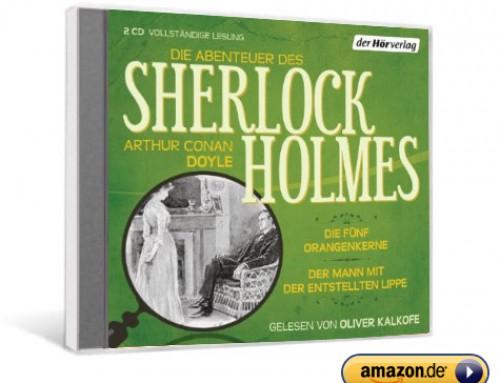 Die Abenteuer des Sherlock Holmes: Die fünf Orangenkerne & Der Mann mit der entstellten Lippe