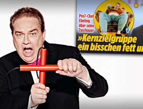 """OLIVER KALKOFE ÜBER DEN PROSIEBEN-CHEF: """"Die TV-Macher verachten ihre Zuschauer"""""""