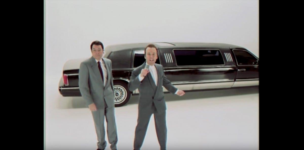 """Jimmy Fallon and Paul Rudd Recreate """"King of Wishful Thinking"""""""