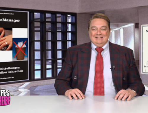 Kalkofes Mattscheibe – Wolfgang Rademachers Pressemanager