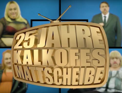 "TELE 5 feiert 25 Jahre Fernsehgeschichte mit ""KALKOFES MATTSCHEIBE"""