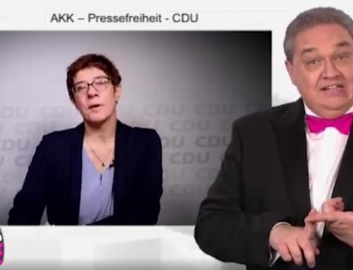 Kalkofes Mattscheibe – Annegret Kramp-Karrenbauer und die Pressefreiheit